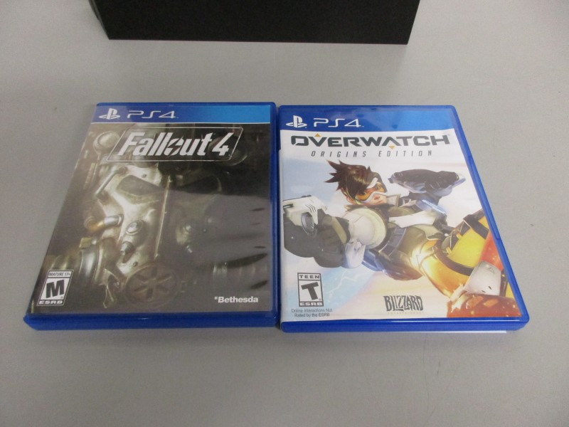 SONY PLAYSTATION 4 500GB - CUH-1115A, w/OVERWATCH, FALLOUT 4