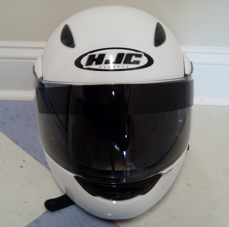 HJC MOTORCYCLE HELMET (M), MODEL: CL-MAX
