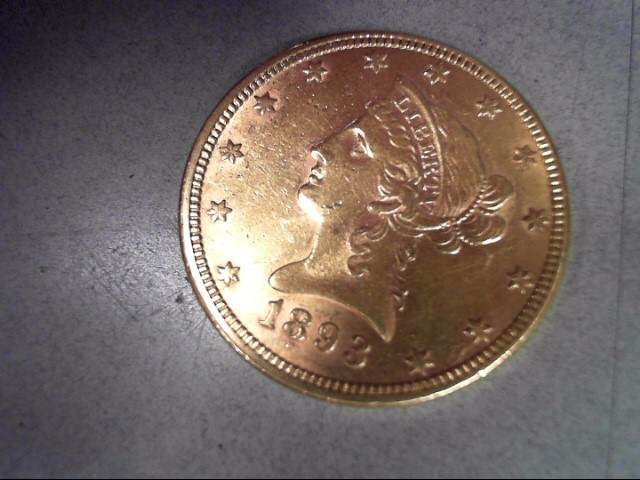 UNITED STATES Gold Coin 1893 $10 LIBERTY GOLD