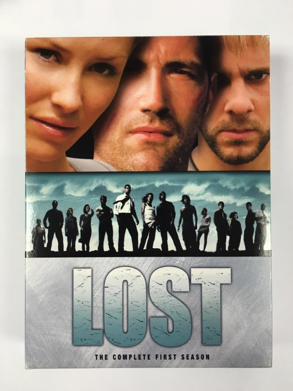 Lost: The Complete First Season - (DVD Box Set, 2005, 7 Disc Set)