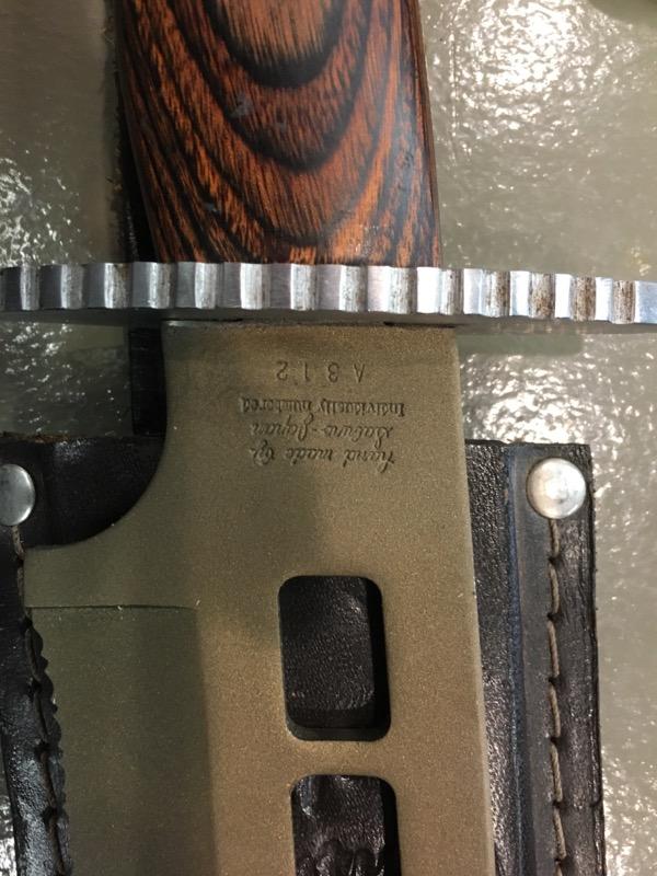 21ST CENTURY BOWIE KNIFE