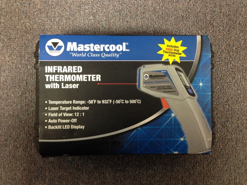 Mastercool Infrared Thermometer w/ Laser 52224ASP