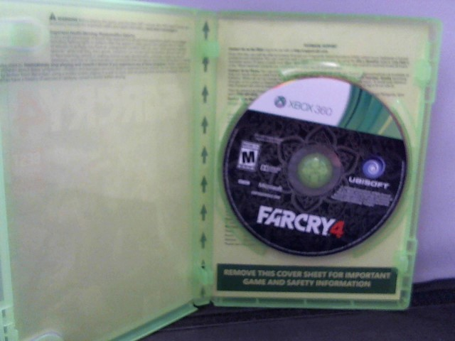 MICROSOFT Microsoft XBOX 360 Game FAR CRY 4 - XBOX 360