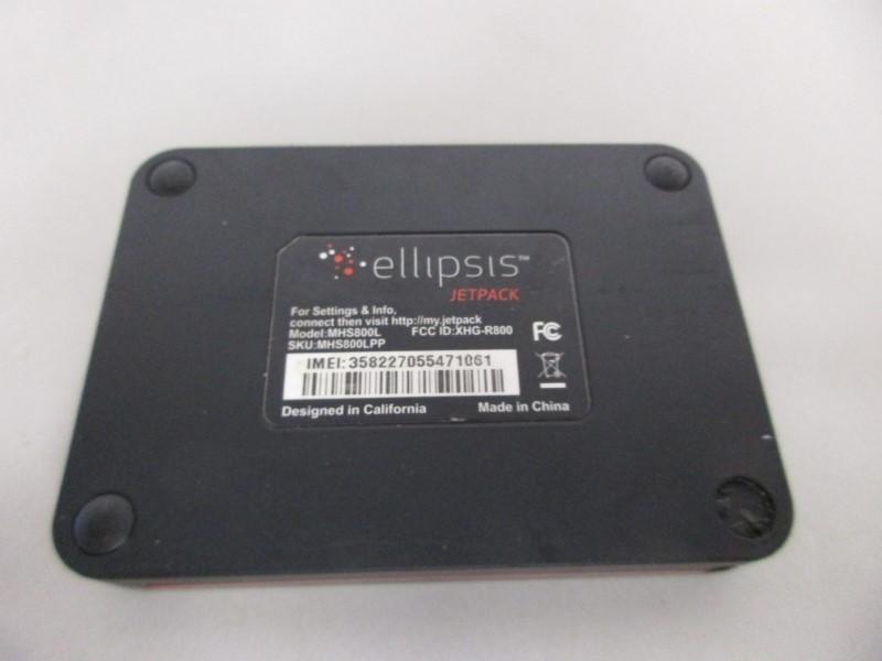 VERIZON ELLIPSIS JETPACK MHS800L PORTABLE 4G LTE HOTSPOT