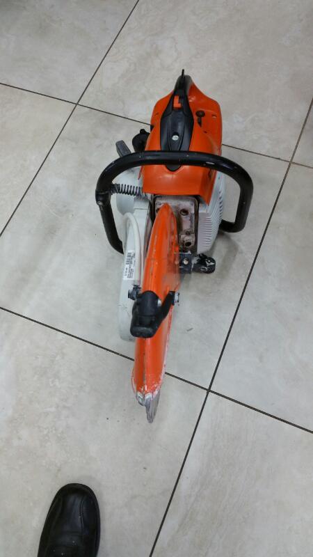 STIHL Concrete Saw TS420