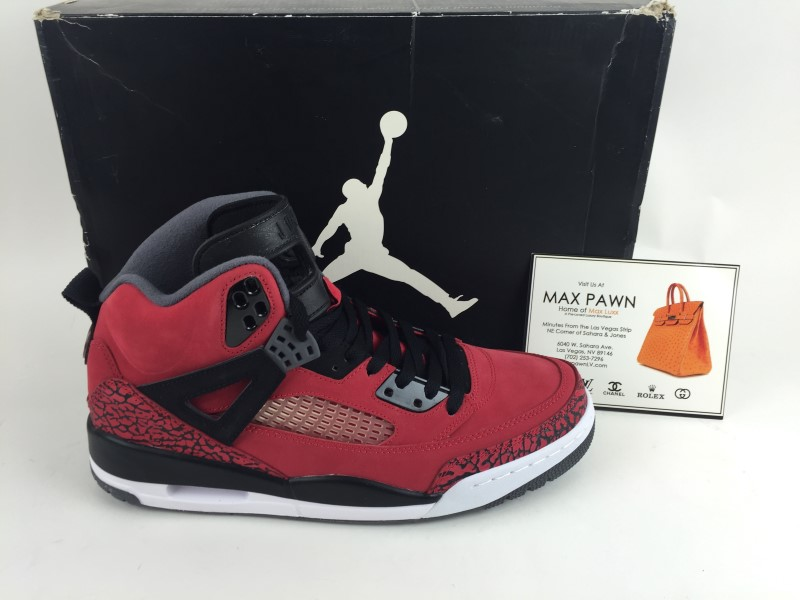 Air Jordan Spiz'ike Gym Red sz 11 2012