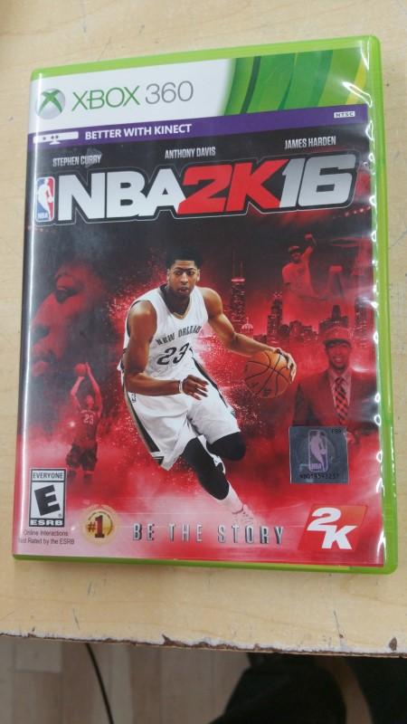 MICROSOFT Game NBA2K16-XBOX3600