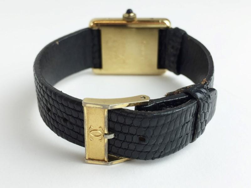 CARTIER Lady's Wristwatch TANK 620M