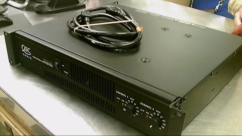 QSC AUDIO POWER AMP RMX850
