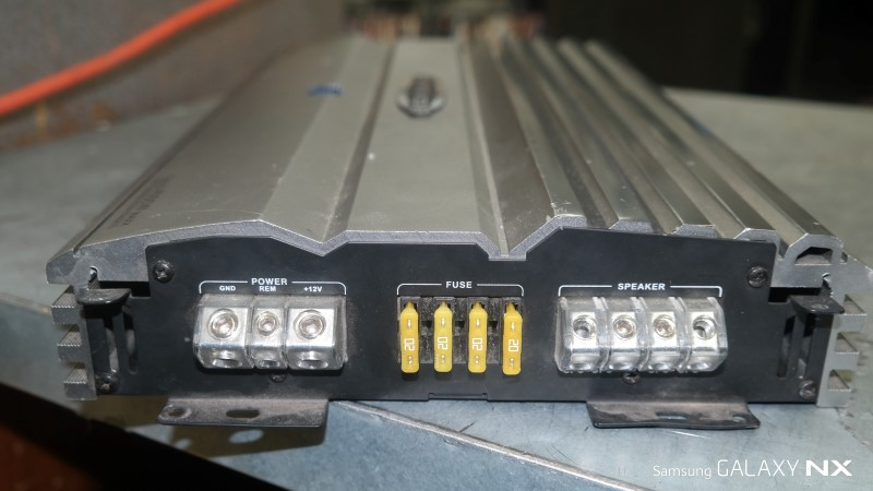 NITRO Car Amplifier BMWX-3888