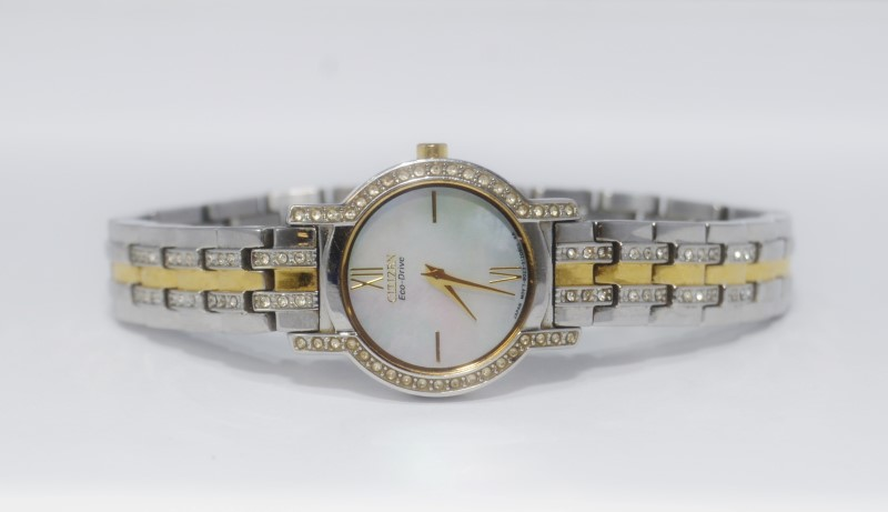 CITIZEN Lady's Wristwatch LADIES ECO DRIVE WATCH