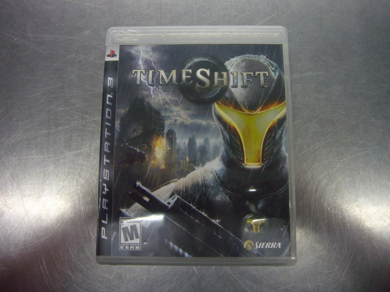 SONY PlayStation 3 Game TIME SHIFT