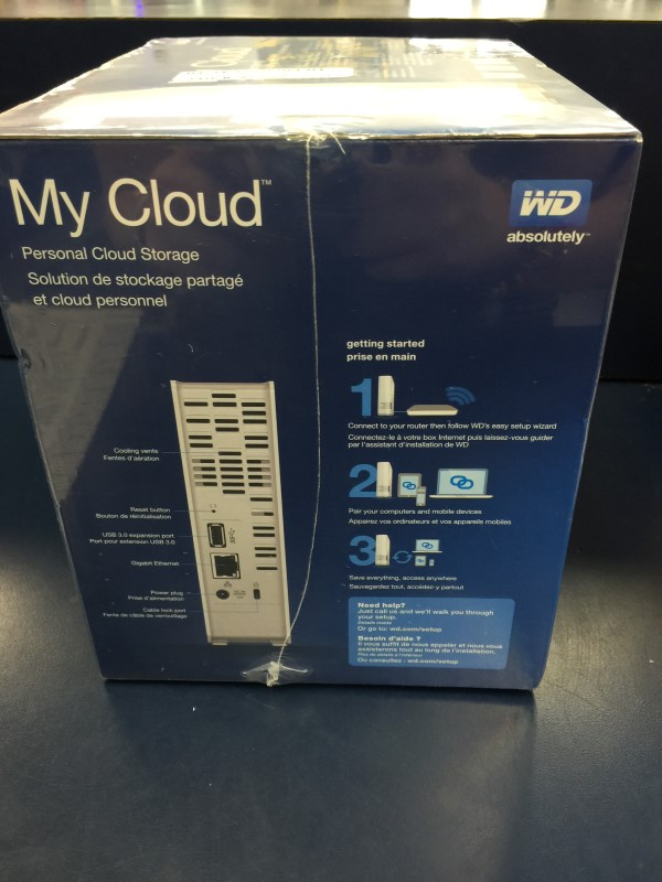 WESTERN DIGITAL Networking & Communication MY CLOUD
