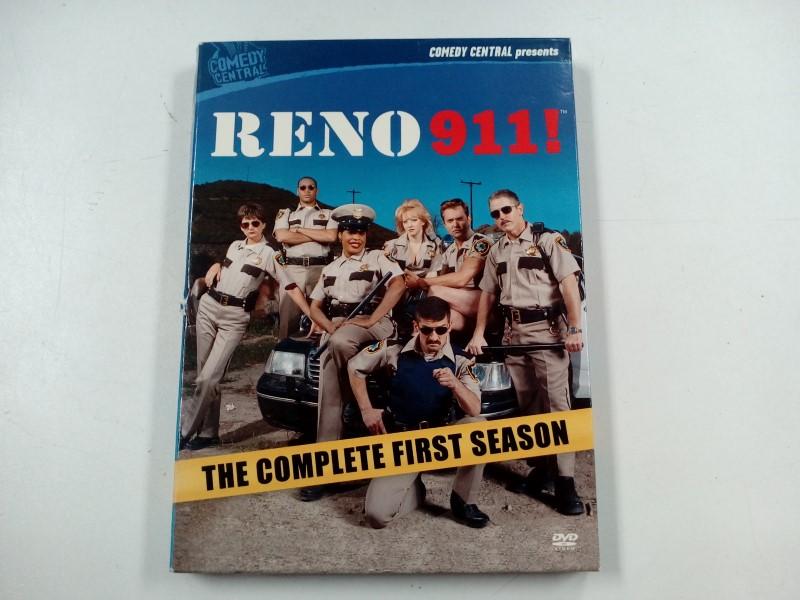 DVD MOVIE DVD RENO 911 THE COMPLETE FIRST SEASON
