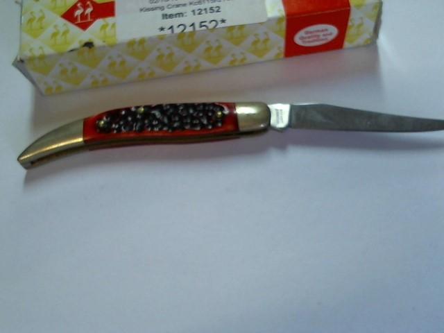 KISSING CRANE Pocket Knife KC6115RD