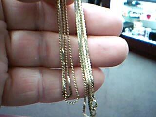 "24"" Gold Chain 14K Yellow Gold 3.6g"