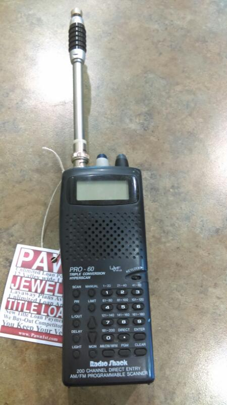 RADIO SHACK PRO-60 (200 CHNL)