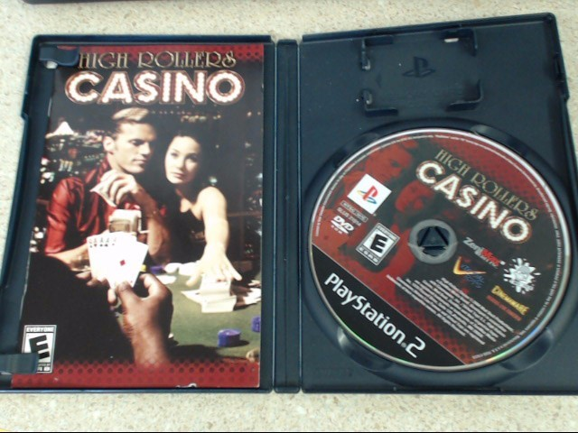 HIGH ROLLERS CASINO - Playstation 2 Game