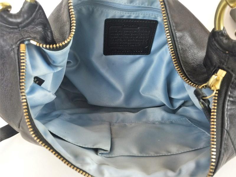 COACH KRISTIN LEATHER CONVERTIBLE SHOULDER BAG