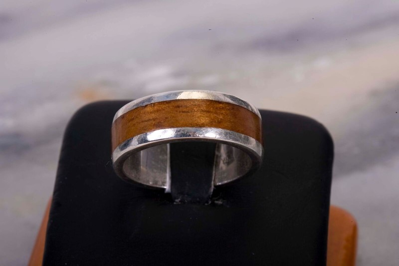 Gent's Silver Ring 925 Silver 8.6g Size:9.5