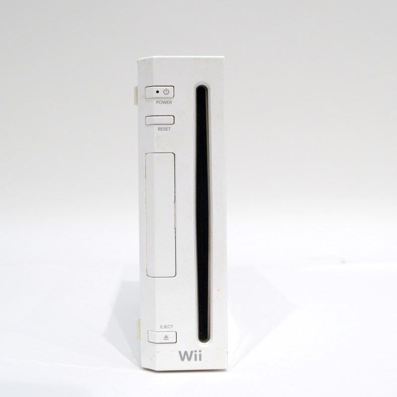 Nintendo Wii Console RVL-001 White Video Game System Bundle Tested>