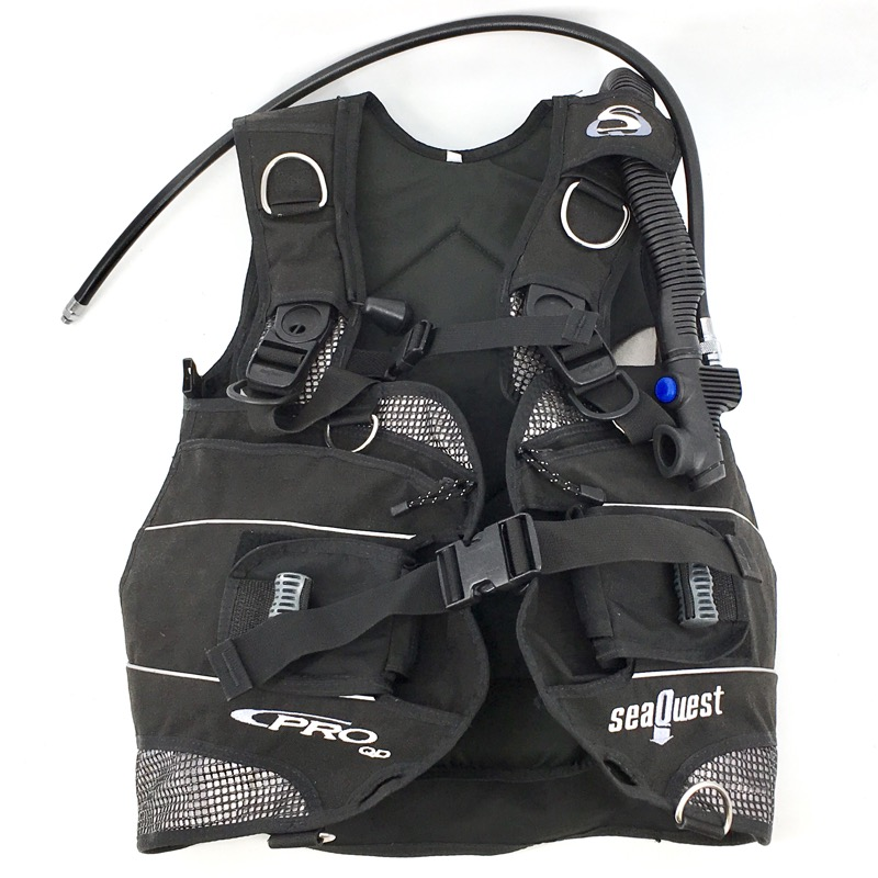 SeaQuest Pro QD BCD Dive Buoyancy Compensator Scuba Diving Vest ML