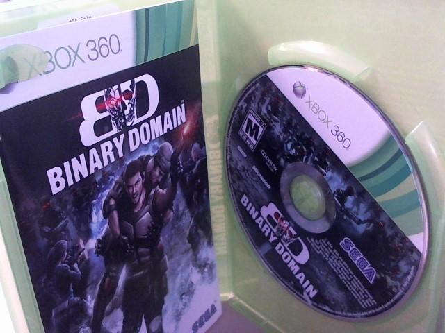 BINARY DOMAIN-XBOX 360