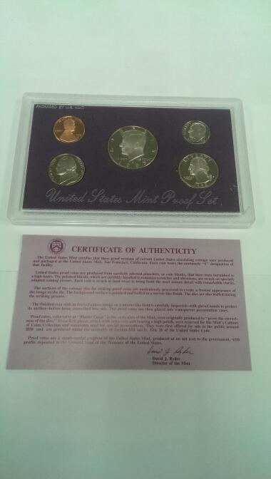 UNITED STATES 1993 MINT PROOF SET