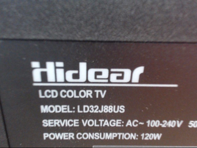 HIDEAR TELEVISION