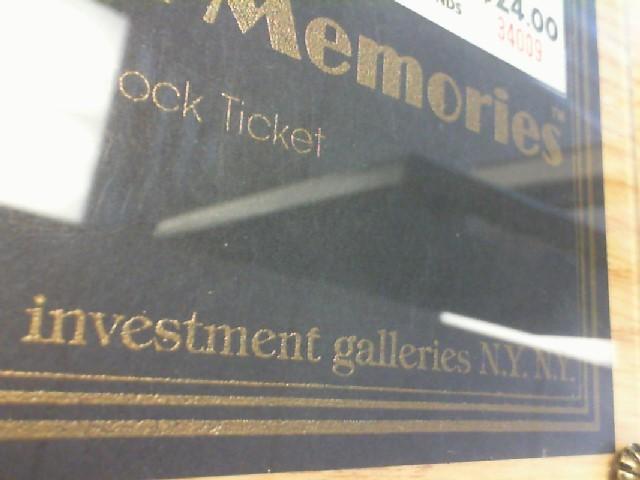 INVESTMENT GALLERIES