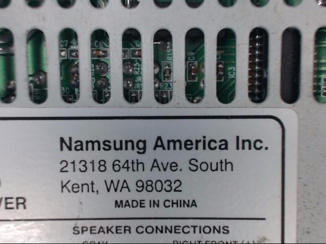NAMSUNG AMERICA INC