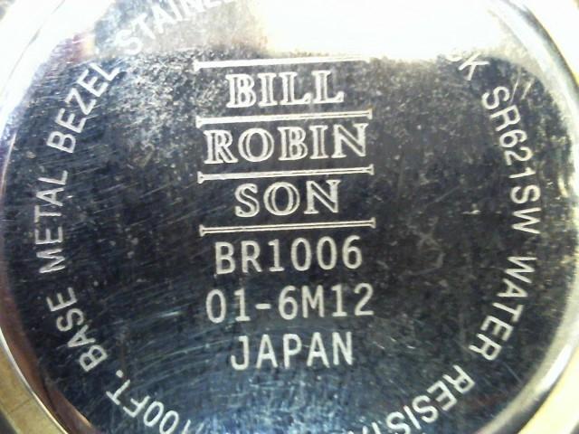 BILL ROBIN SON