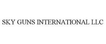 SKY GUNS INTERNATIONAL