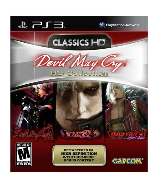 SONY Sony PlayStation 3 Game DEVIL MAY CRY HD COLLECTION