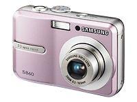 SAMSUNG Digital Camera DIGIMAX S860