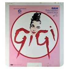 CED Vintage Movie & Photography GIGI