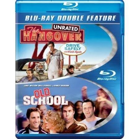 BLU-RAY MOVIE Blu-Ray THE HANGOVER / OLD SCHOOL