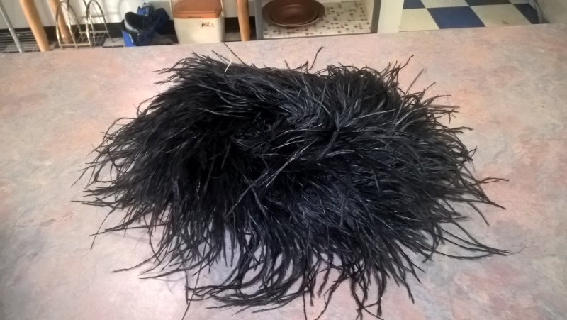 PONY EXPRESS CREATIONS, INC OSTRICH FEATHER HAT