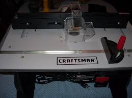 CRAFTSMAN Router Table 320.28160