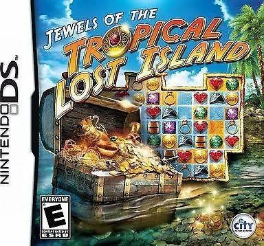 NINTENDO Nintendo DS Game JEWELS OF THE TROPICAL LOST ISLAND