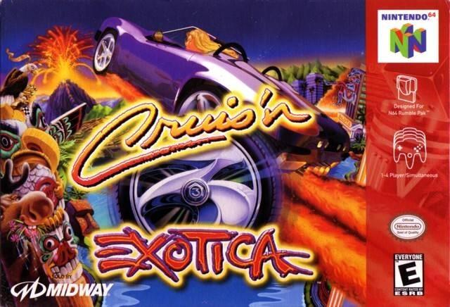 NINTENDO Nintendo 64 Game CRUISIN EXOTICA