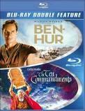 BLU-RAY MOVIE Blu-Ray DOUBLE FEATURE BEN HUR & THE TEN COMMANDMENTS