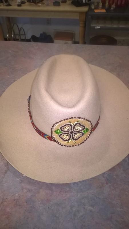Hat BEADED COWBOY HAT