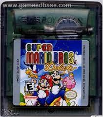 NINTENDO Vintage Game GAMEBOY COLOR SUPER MARIO BROS DELUXE