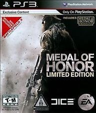 SONY Sony PlayStation 3 Game MEDAL MOF HONOR LIMITED EDITION