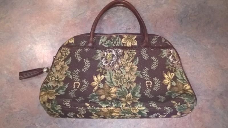 ETIENNE AIGNER Handbag TAPESTRY PURSE
