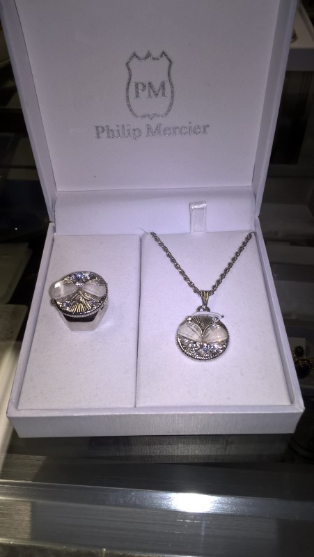 PHILIP MERCIER Watch Accessory MERCIER RING WATCH