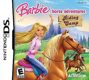 NINTENDO Nintendo DS Game BARBIE HORSE ADVENTURES RIDING CAMP DS
