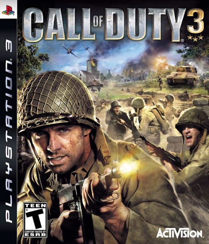 SONY Sony PlayStation 3 Game PS3 CALL OF DUTY 3