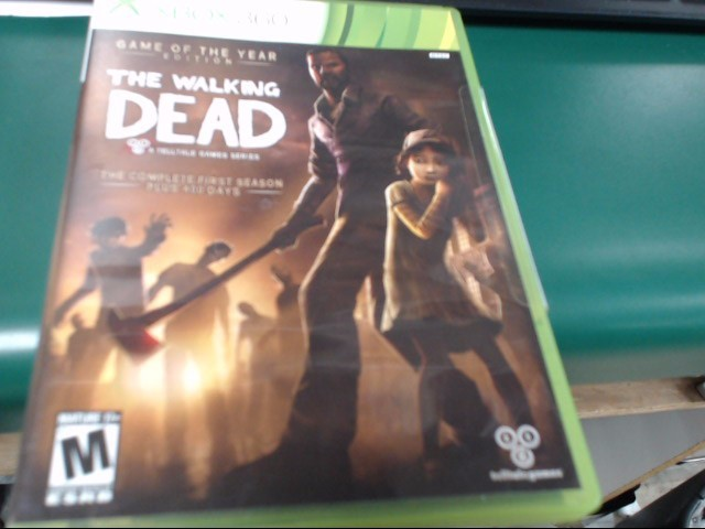 MICROSOFT Microsoft XBOX 360 Game THE WALKING DEAD THE COMPLETE FIRST SEASON